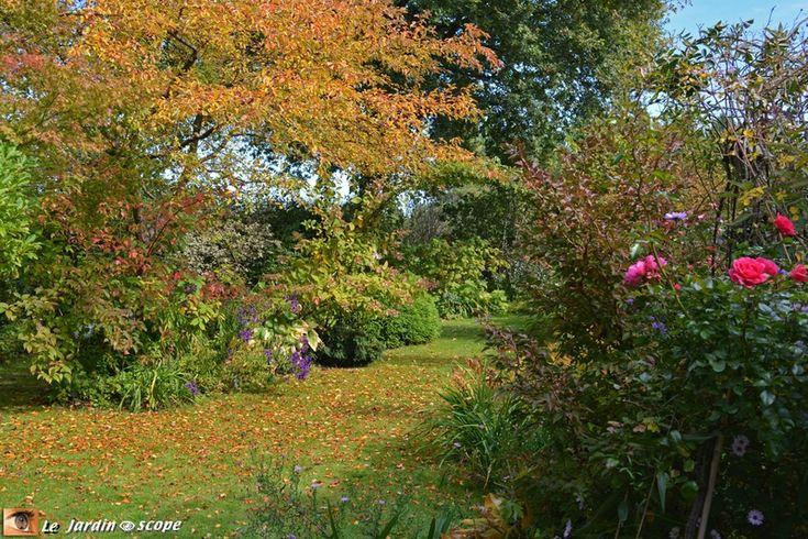 Un jardin romantique aux portes de la Sologne