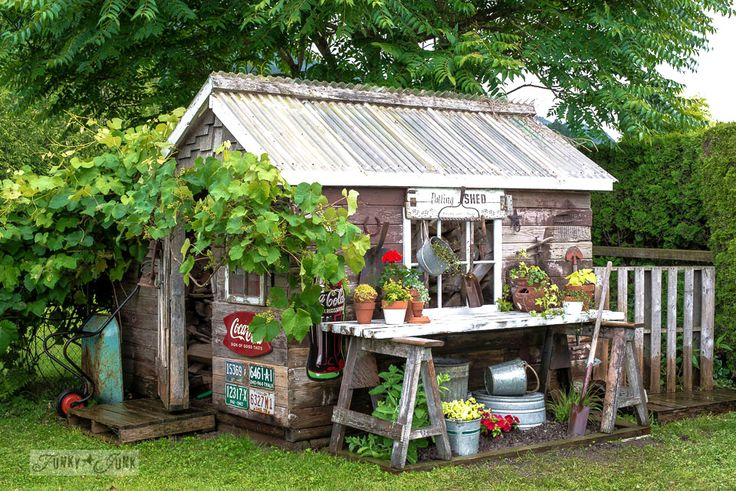 perfectly charming garden sheds    garden