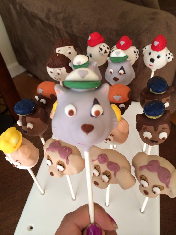 paw patrol cake pops 99 best images about ella s birthday ideas on 6395