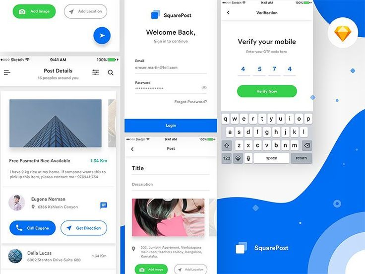 Squarepost UI Kit by Divan Raj http://bit.ly/2oxRpso  #design #freebie #ui #ux #free #web #dribbble #behance #website #inspiration #brand #www #uidesign #uxdesign #webdesign #designer #graphicdesign #entrepreneur #psd #template #photoshop #colors #adobe #hustler #concept #redesign #app #sketch