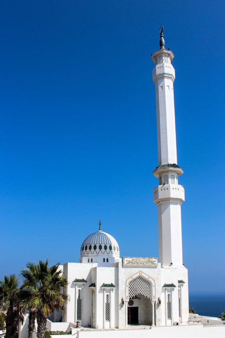 Ibrahim-al-Ibrahim Mosque, Europa Point,Mediterranean Sea, Gibraltar,British Overseas Territory, Europe | www.DoLessGetMoreDone.com |