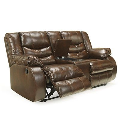 Signature Design by Ashley® McCarron Double Reclining Loveseat with Console at Big Lots.  sc 1 st  Pinterest & 12 best Living room- Recliners images on Pinterest | Recliners ... islam-shia.org
