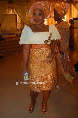 Placida's Blog: PHOTOS:NIGERIAN WOMEN IN LACE AND ANKARA DESIGNS