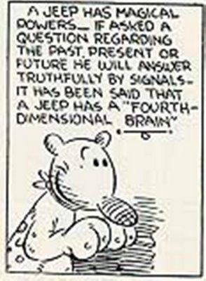 eugene the jeep | ... Jeep. Eugene the Jeep was a character in the syndicated Popeye