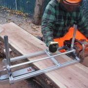 "24"" ALASKAN MK IV CHAIN SAW MILL"