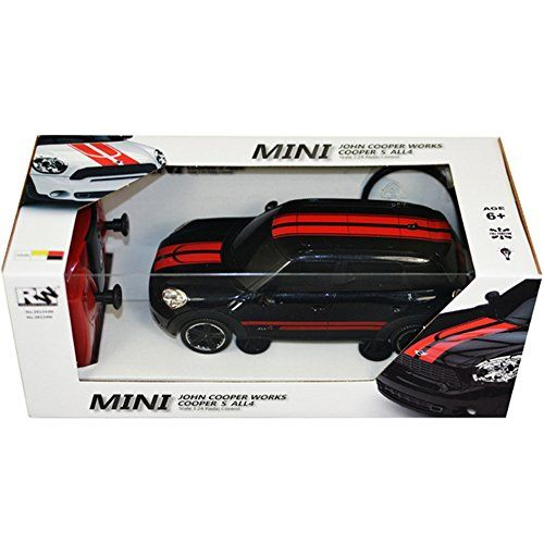 buy now   £14.90   Remote controlled Mini Countryman car. Officially licensed and authentically styled, featuring a detailed design. Its independent suspension delivers stable control and an exhilarating driving experience. Body requires  ...Read More
