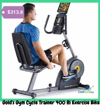 Gold's Gym Cycle Trainer 400 Ri Exercise Bike for more details visit http://coolsocialads.com/gold-s-gym-cycle-trainer-400-ri-exercise-bike-61209