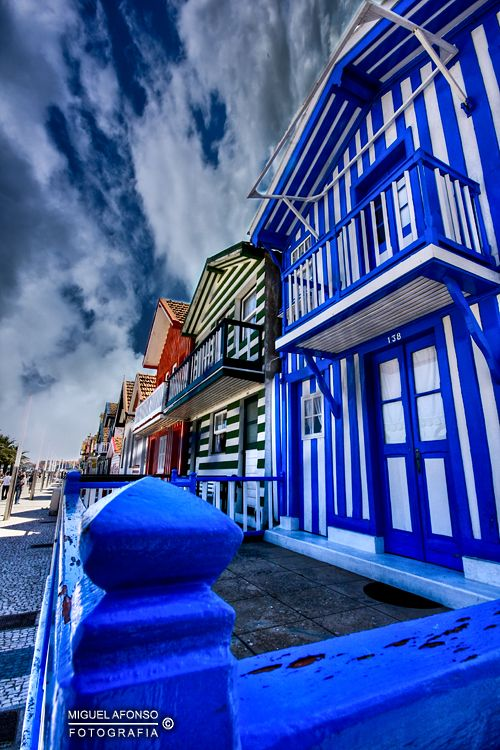 Beach houses ~ Costa Nova, Aveiro-Portugal