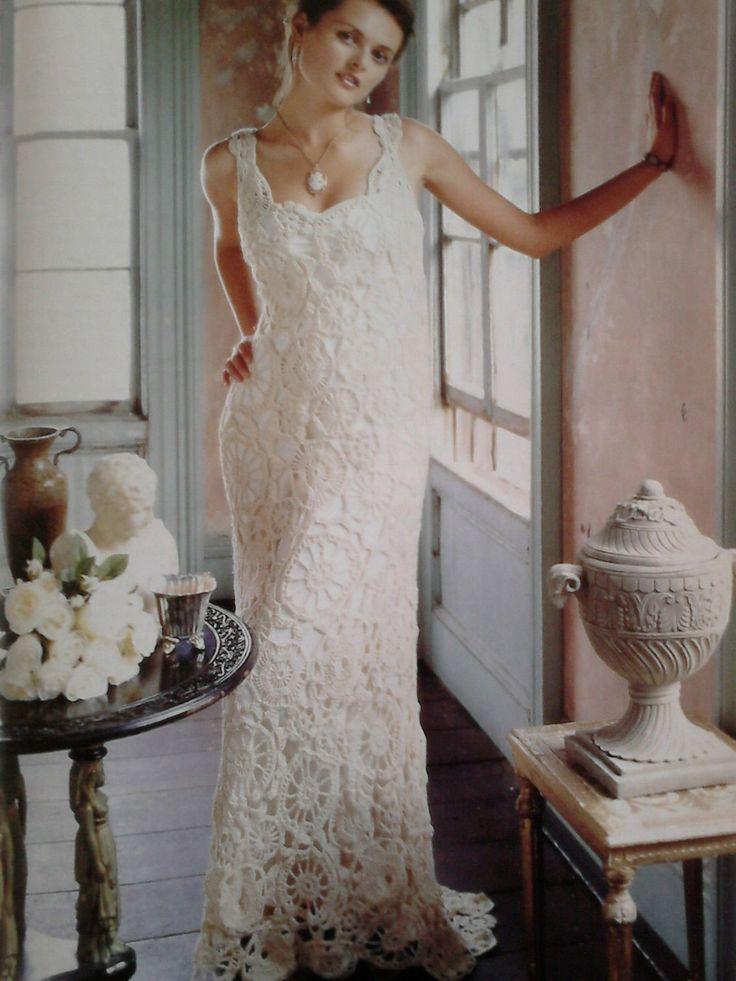 The Best Crochet Wedding Dress Pattern Ideas On Pinterest