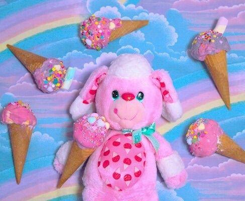 Image via We Heart It #fairy #fancy #ice #icecream #icecream #pink #pop #sweets #yumyums #ヤムヤムズ
