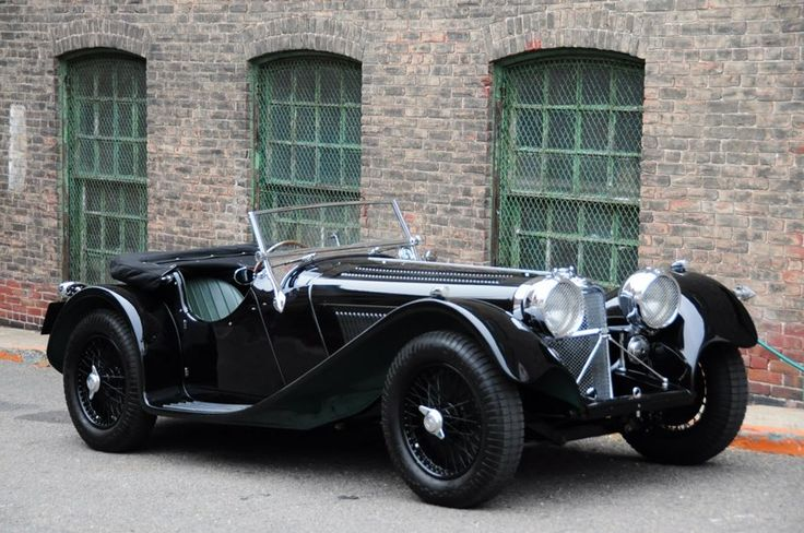 Jaguar SS100 Suffolk