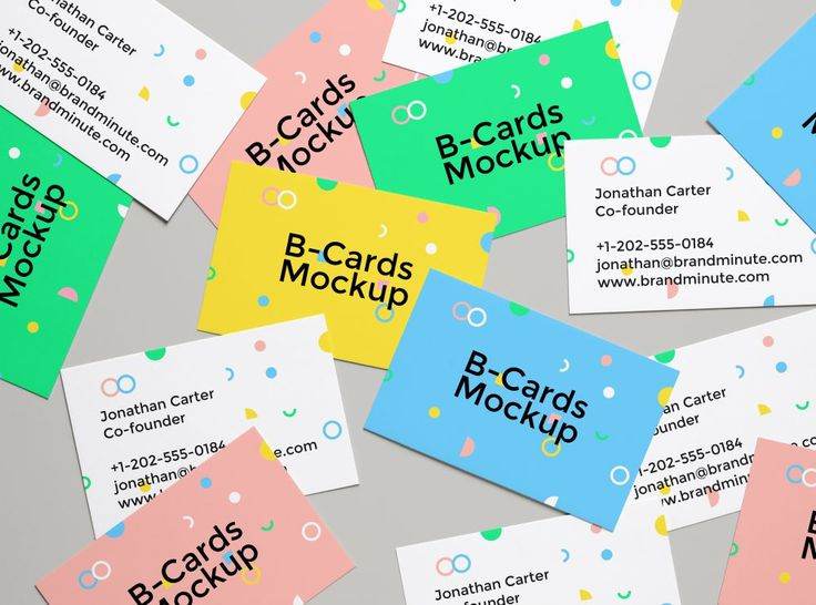 Realistic Business Cards MockUp Freebies Business Card Display - customer comment card template