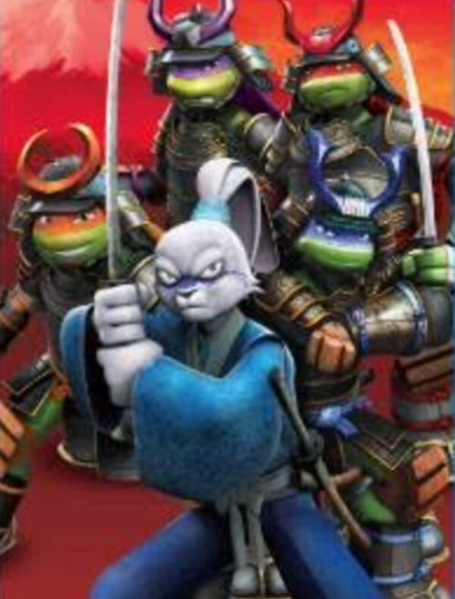 Miyamoto Usagi Yojimbo in TMNT 2012 Season 5.