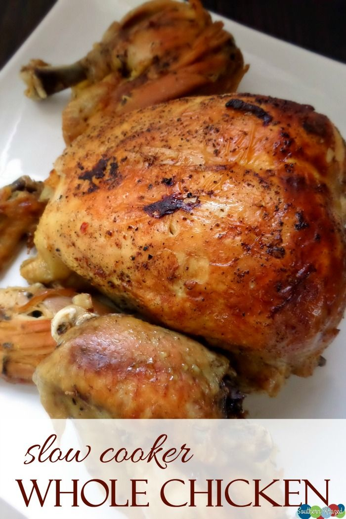 Easy And Delicious Slow Cooker Whole Chicken Recipe -7902