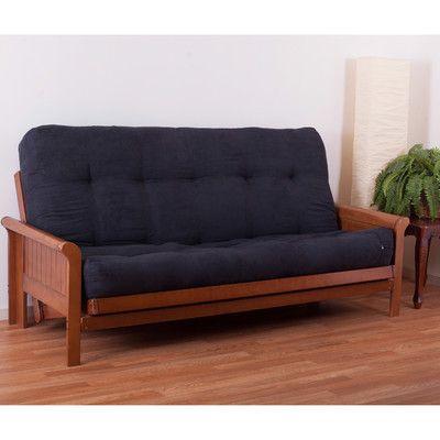 "Vitality 10"" Micro Suede Queen Futon Mattress - http://delanico.com/futons/vitality-10-micro-suede-queen-futon-mattress-660076400/"