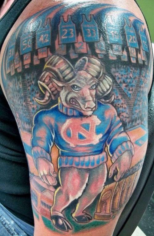My tarheel tattoo for North carolina tattoo ideas