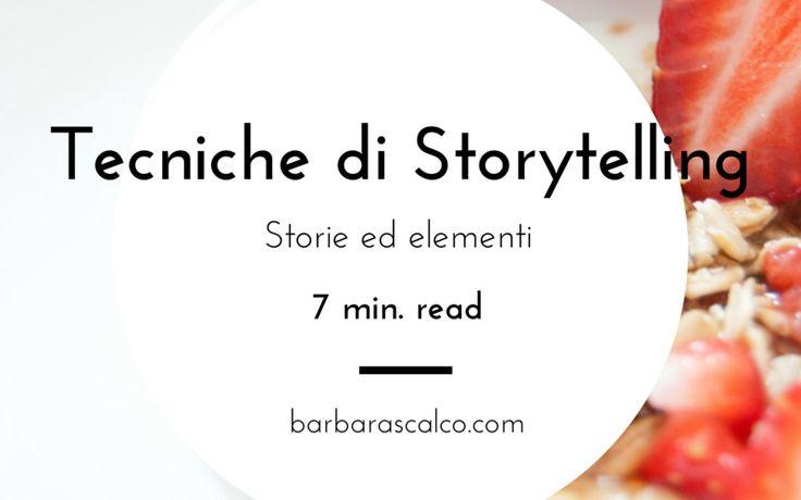 Tecniche di storytelling