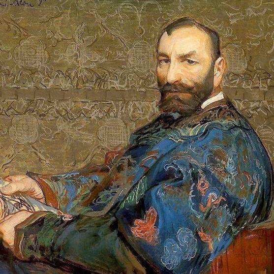 Portrait of Feliks Jasienski Leon Wyczółkowski, 1911.
