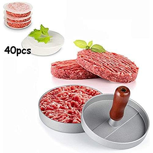 Bœuf Burger Hamburger Quarter Pounder Maker moule presse Barbecue BBQ