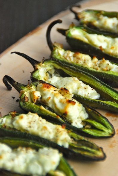 Feed Your Sole:Grilled Goat Cheese Japalenos