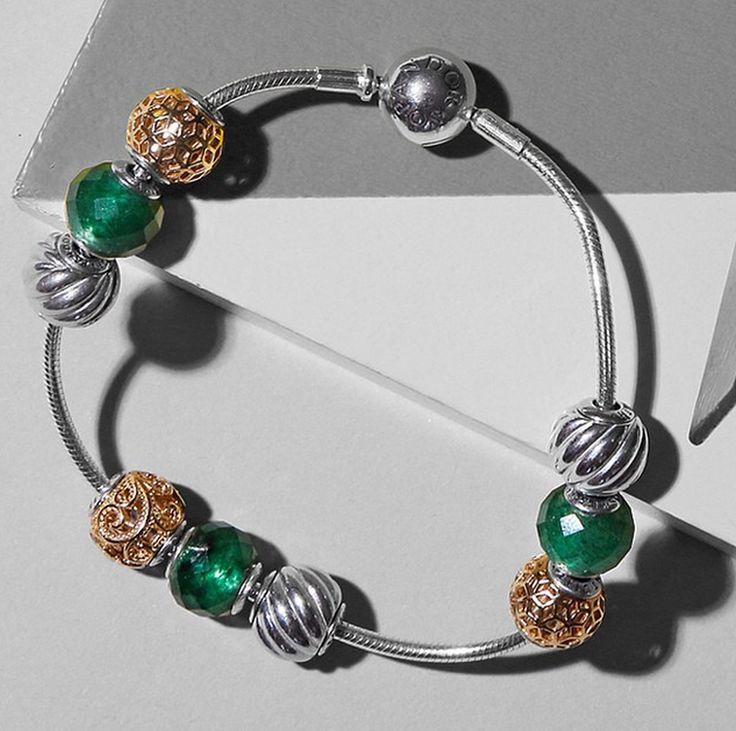 bracelete pandora e encantos