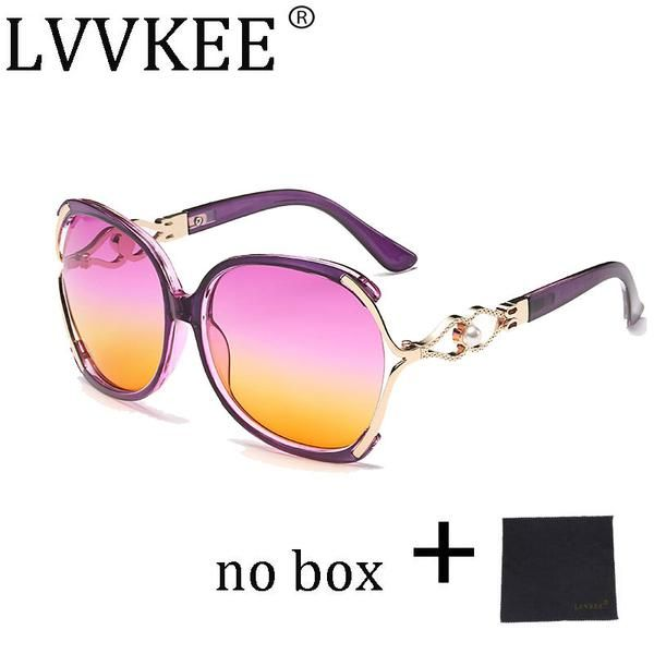 2017 lvvkee Vintage Crystal Sunglasses Women Brand Designer Female Pierced Gradient Sun Glasses UV400 Oculos lunette femme 512