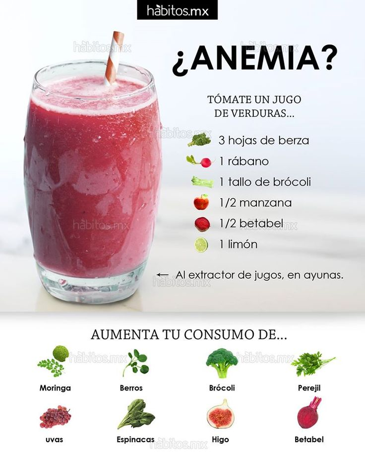 #Batidos Una solución para intentar conseguir reducir la anemia es prepararte un delicioso batido de verduras. ¡Aquí te dejamos cómo se hace de manera muy sencilla! vía HÁBITOS