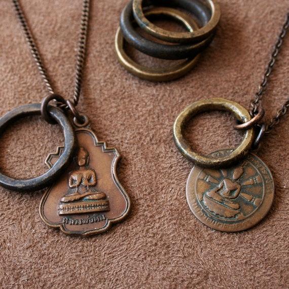 Vintage Buddha Necklace - Design Your Own - Premium Series