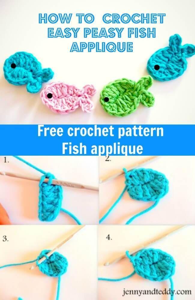 how to crochet a betta fish