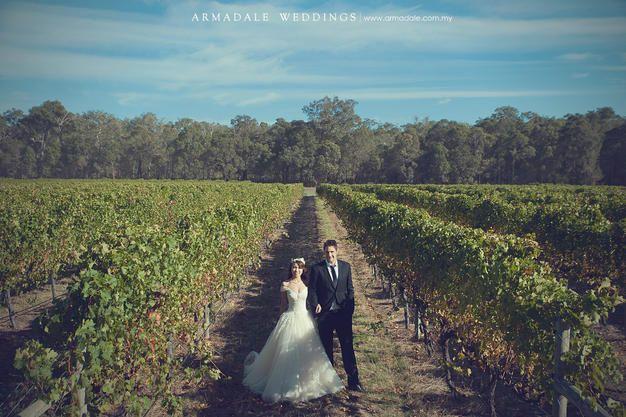 Perth Prewedding, Wineyard wedding photos, Australia Weddings