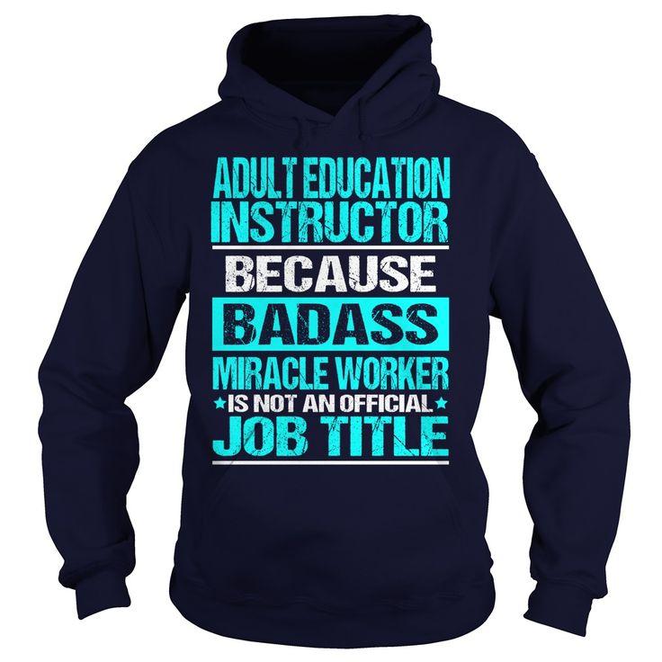 ADULT EDUCATION INSTRUCTOR - ① BADASSADULT EDUCATION INSTRUCTOR - BADASSSite,Tags