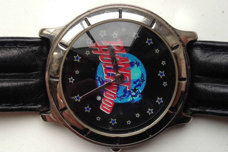 ON AUCTION ON THURSDAY 12 NOVEMBER FROM 8pm.....FOSSIL PLANET HOLLYWOOD PL-1014 MENS QUARTZ WATCH (NEEDS NEW BATTERY SEE DESC)