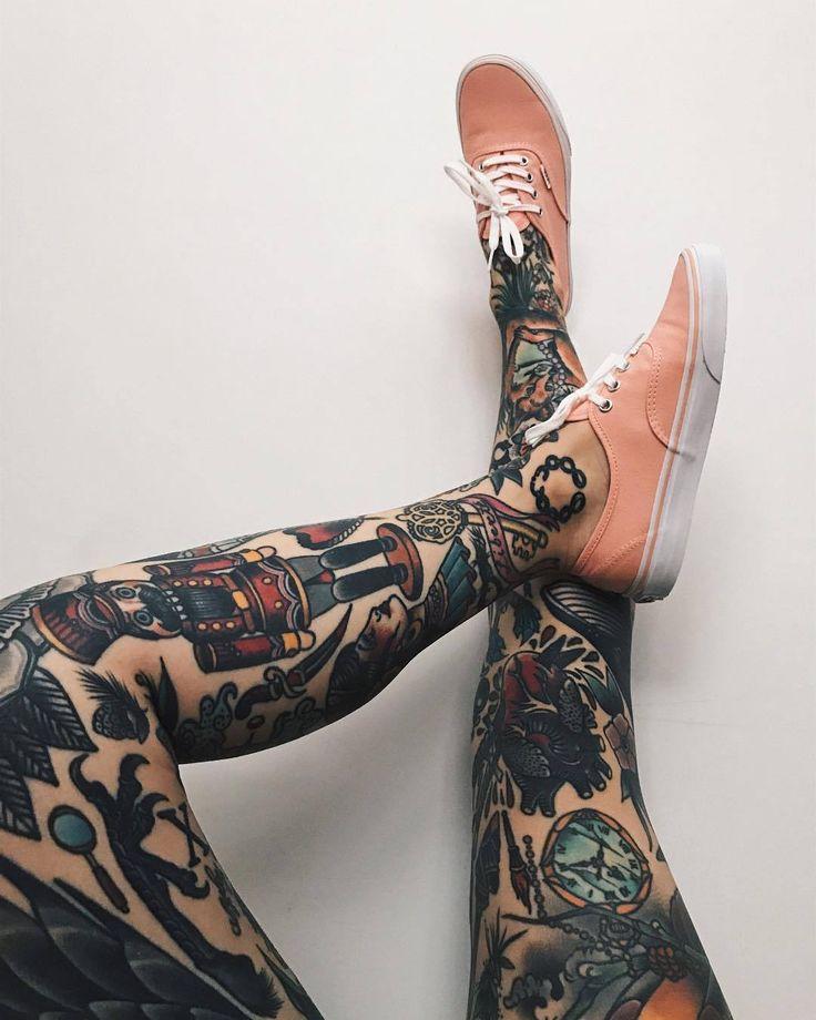 Big mouth strikes again leg tattoos creative tattoos