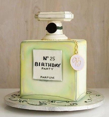 Chanel birthday cake~adorable! I want this for my big 40th bday @Georgia Wilson Wimbush