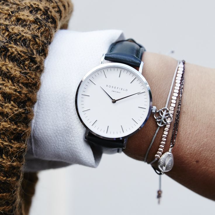 Fashion-forward watches inspired by Amsterdam and NYC. Discover now at https://www.rosefieldwatches.com