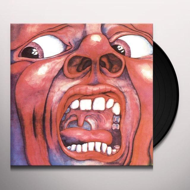 King Crimson In The Court Of The Crimson King Vinyl Record King Crimson 21st Century Schizoid Man Vinyl Records