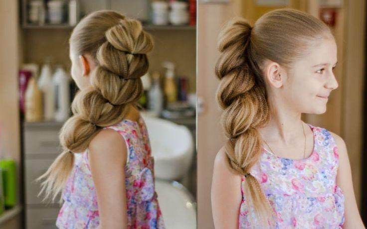 girl. hairstyle. waffle-iron