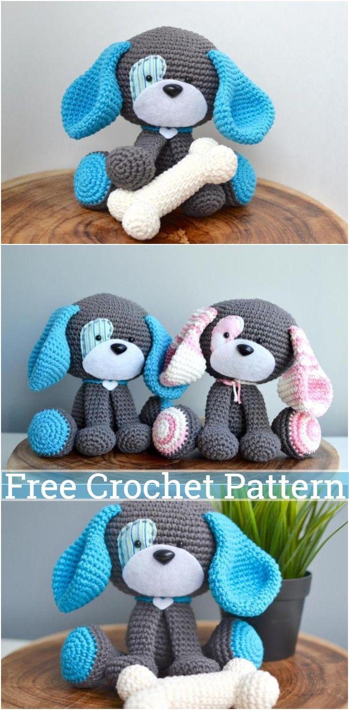 Top 10 Best Amigurumi Animal Free Crochet Patterns - Crochet.msa.plus | 1400x690