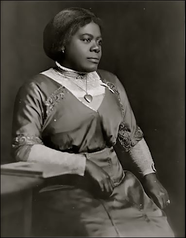 Mary McLeod Bethune as a young woman