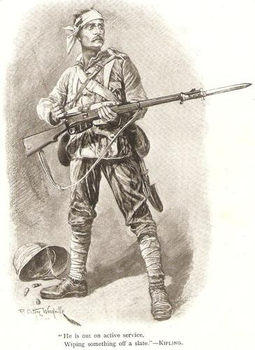 - BOER WAR - An iconic image of Courage...