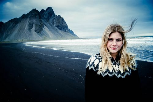 lopapeysas (traditional icelandic sweater) - I want one of those!!!