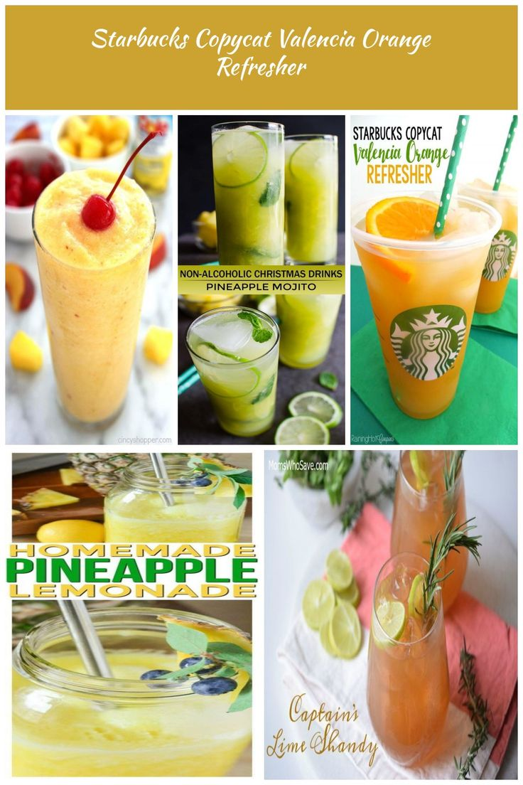 TROPICAL SLUSHIES #drink #cocktail drinks nonalcoholic   – beauty-pictures