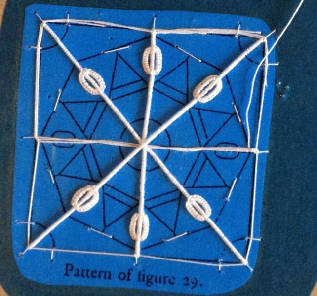 Reticello Needle Lace