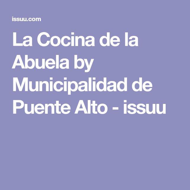 La Cocina de la Abuela by Municipalidad de Puente Alto - issuu
