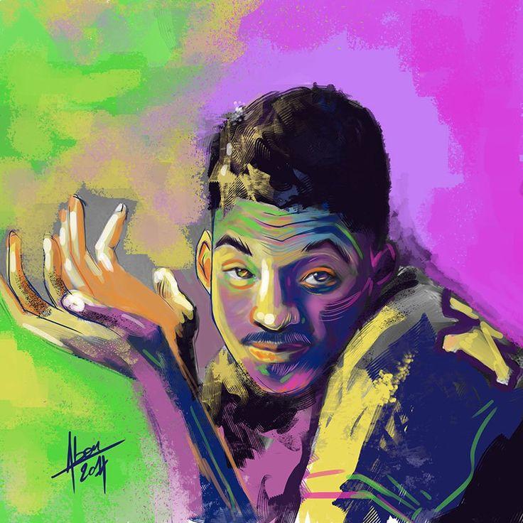 Speed painting colorés
