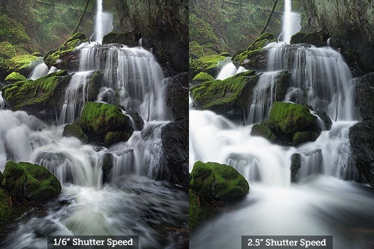 How to Shoot Better Waterfall Images - Comparison