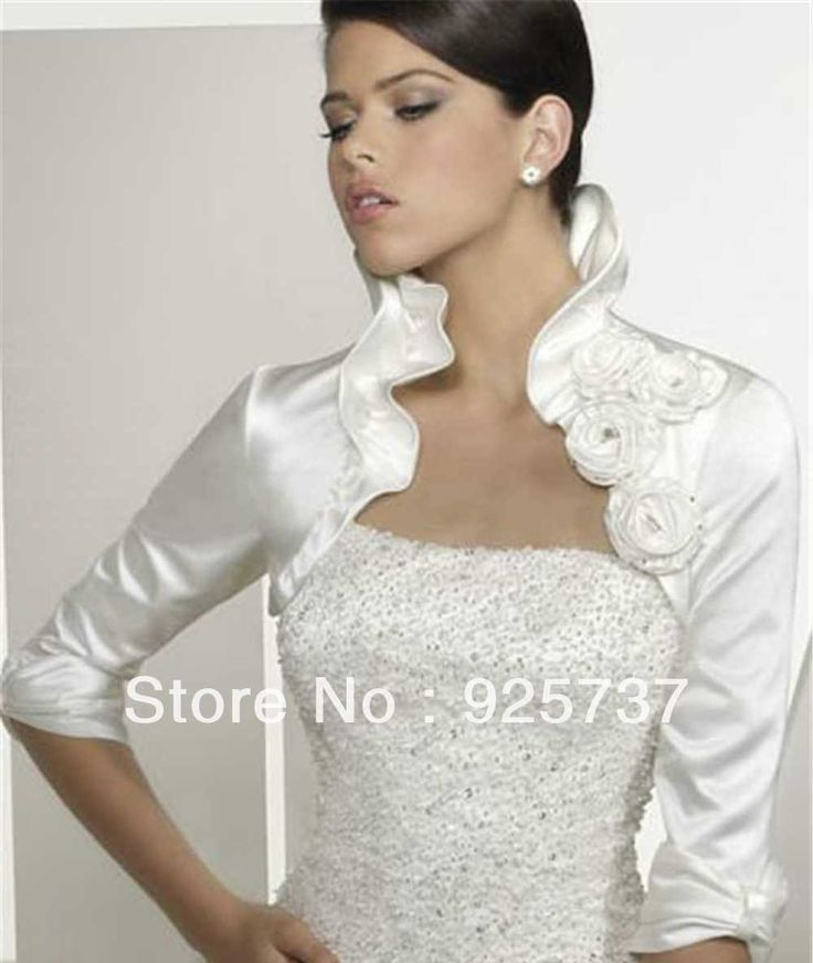 Spectacular Bolero Jacket For Wedding Dress Bolero satin Jacket Fast