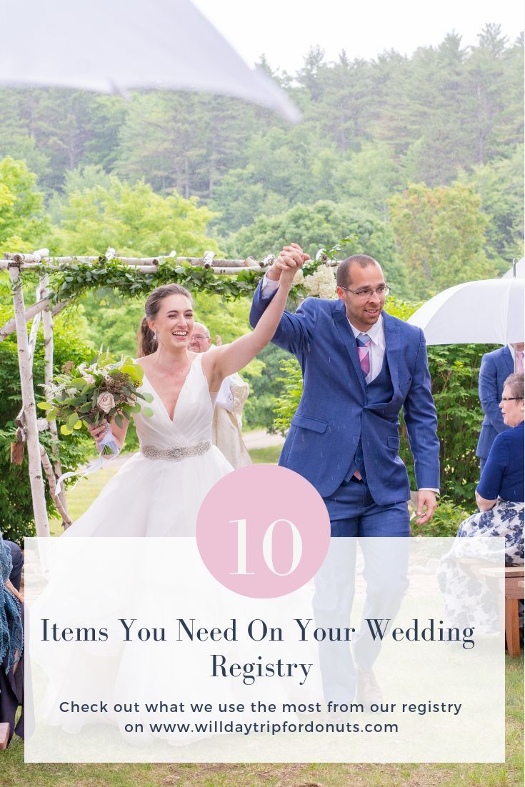 Top 10 Artikel für Ihre Hochzeit Registry   – ** All Things Wedding **