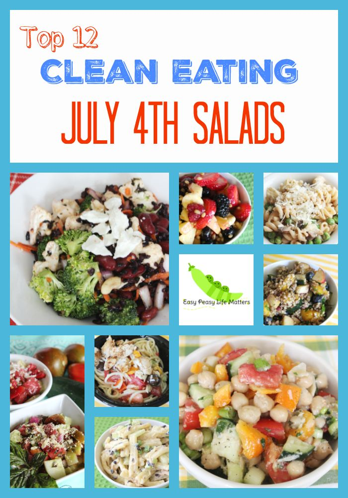 4th of july salads and desserts
