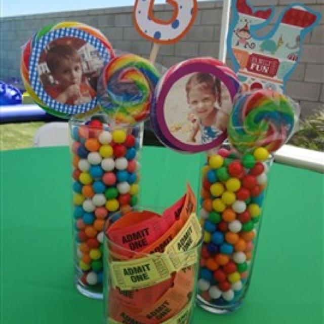 Ideas Birthday Party Circus Theme Gumball Dumbo Forward Carnival